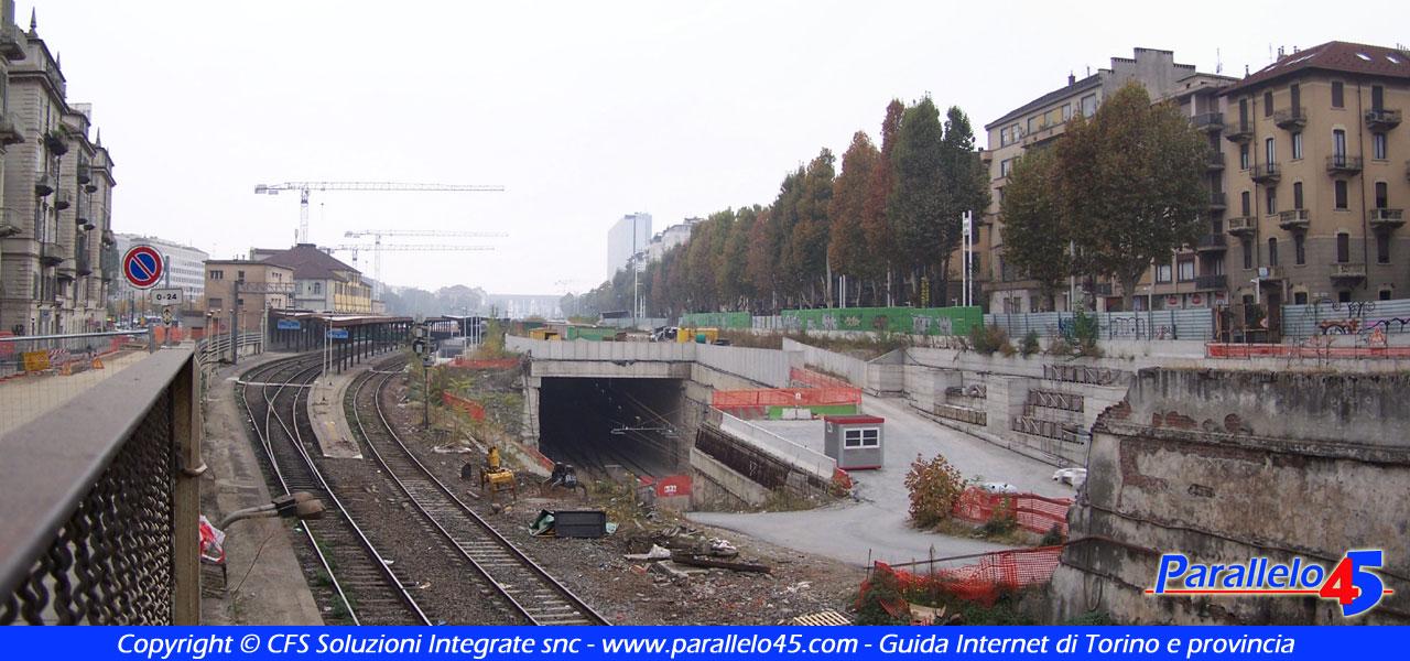Torino il cantiere di porta susa formato panorama - Porta susa stazione ...
