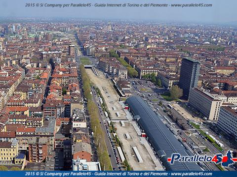 Torino veduta di porta susa dal grattacielo intesa san - Ristorante porta di po torino ...