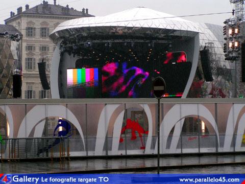 Torino medal plaza in un giorno piovoso parallelo45 - Piscina la serra ivrea ...