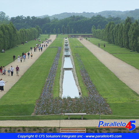 Venaria reale to giardini della reggia parallelo45 - Piscina di venaria ...