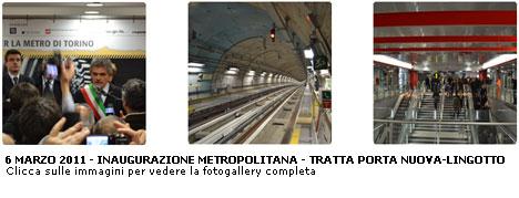 Torino da oggi la metropolitana arriva al lingotto - Gtt torino porta nuova ...