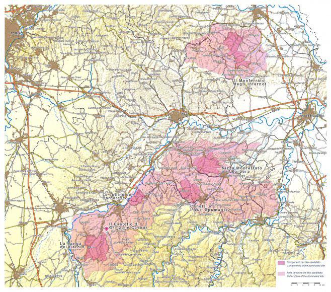 I paesaggi vitivinicoli delle Langhe, del Roero e del Monferrato entrati a far parte della World Heritage List UNESCO